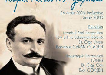 Tevfik Fikret'i Anma Programı